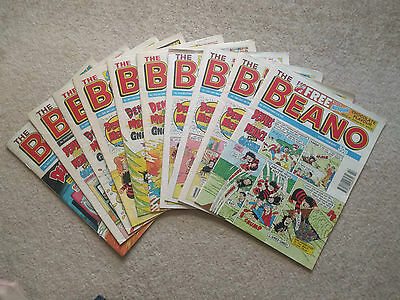 Vintage beano comic from the 1990's