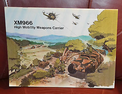 VTG Advertising Brochure Gen Dynamics XM966 High Mobility Weapons Carrier N
