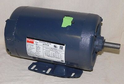 DAYTON 31TT13 General Purpose Motor 1-1/2 HP 3-Phase 1725 RPM 208-230/460 V