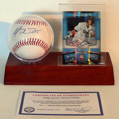 New York Mets Matt Den Dekker Baseball - original signierter Baseball - MLB