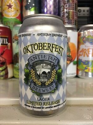 Antietam Brewery. Octoberfest. Craft/Micro Beer Can. MD