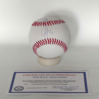 New York Mets Jeff Francoeur Baseball - original signierter Baseball - MLB