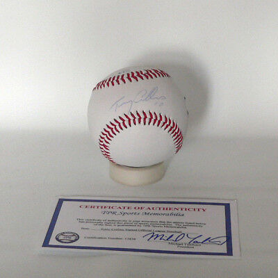 New York Mets Terry Collins Baseball - original signierter Baseball - MLB