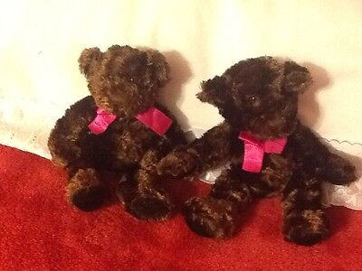 "7"" Twin Russ Berrie Bears"