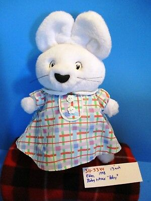 "Eden Toys Max and Ruby ""Ruby"" 1998 plush(310-3344)"