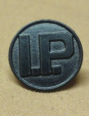 WWI Intelligence Police Collar Disk
