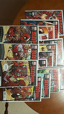 deadpool comic lot