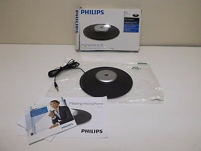Philips LFH-9172 Meeting Conferencing Microphone 360 Boundary Layer
