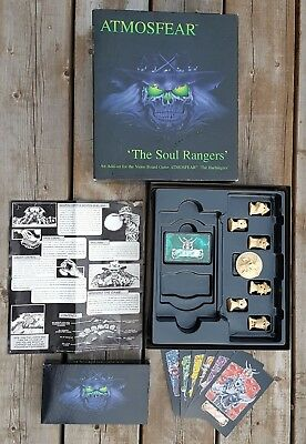 ATMOSFEAR The Soul Rangers 1996 Add-On for Video Board Game The Harbingers