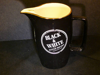 Buchanans Black & White Scotch Whisky Water Pitcher by Wade of England