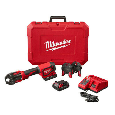 Milwaukee Short Throw Press Tool Kit w/ Crimp Jaws 2674-22C New