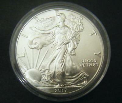 2017 1oz Silver American Eagle Bullion coin .999 Fine One dollar BU uncirculated