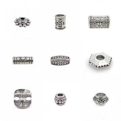 Tibetan Silver Metal Spacer Beads - Lots of Styles and Shapes