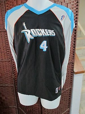 NWT SUZIE McCONNELL SERIO Cleveland Rockers Basketball Jersey WNBA Adult Large