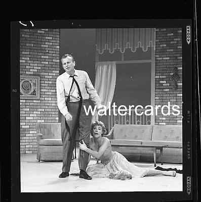 "2 1/4 "" B&W Negative Jack Parr TONIGHT SHOW fame Betty Bruce Acting Couch"