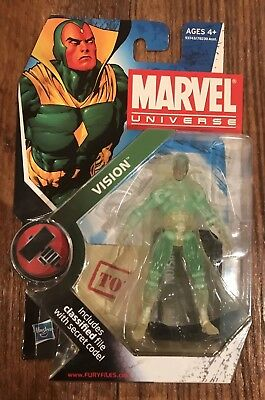 marvel universe 3.75 Vision(clear) action figure