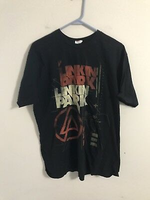 Linkin Park Band Graphic Tshirt Black Size Xl