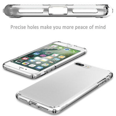 Ultra Thin Clear Crystal Rubber TPU Soft Case Cover For Apple iPhone 8 8 Plus