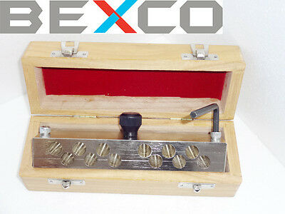 12 hole suppository Mould 2 gms with Fasteners BRAND BEXCO, DHL Ship