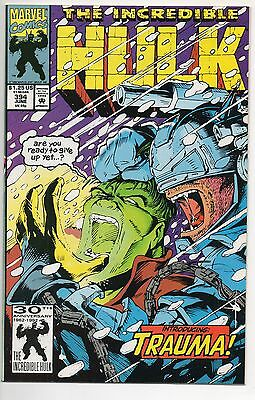 INCREDIBLE HULK #394  (1992)  1ST TRAUMA Appearance , NM-