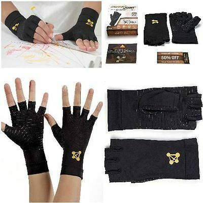 CopperJoint Arthritis Relief Gloves #1 Copper Infused Compression for Hand Pain
