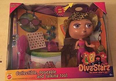 Mattel Collectible Series Talking Diva Starz Nikki with Light Up Lips
