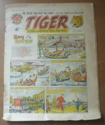 Tiger Comic (Featuring Roy of the Rovers), 29th August 1959.