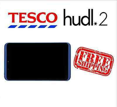 Tesco Hudl 2 Blue Replacement Full Screen LCD Digitizer Assembly Used