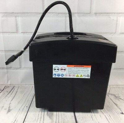 Jazzy 1113 ATS Electric Wheelchair Part - BATTERY BOX w Connection Wires