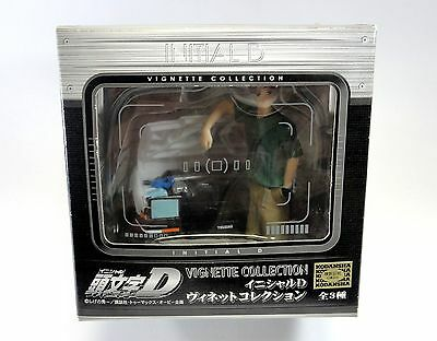 INITiAL D VIGNETTE COLLECTION Takumi & AE86 Figure SEGA JAPAN