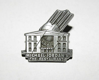 Michael Jordan The Restaurant Chicago Official Commemorative Collector Pin New