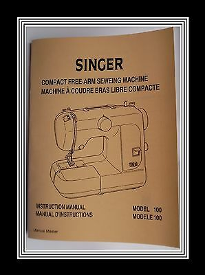 Singer Featherweight Compact 100 Domestic Sewing Machine instructions Manual