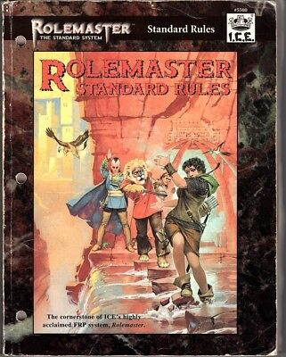 Rolemaster Standard System Core Rulebook (ICE #5500)