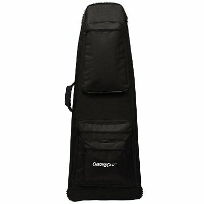 ChromaCast CC-EXTPB-BAG Electric Guitar Padded Bag for Extreme Body Shapes
