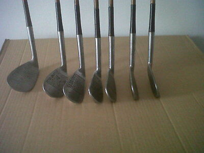Vintage Golf Clubs,tom Morris,st.andrews,summits,hand Forged /made In Scotland