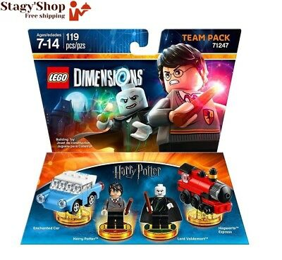 Figurine 'Lego Dimensions' - Harry Potter Pack Equipe