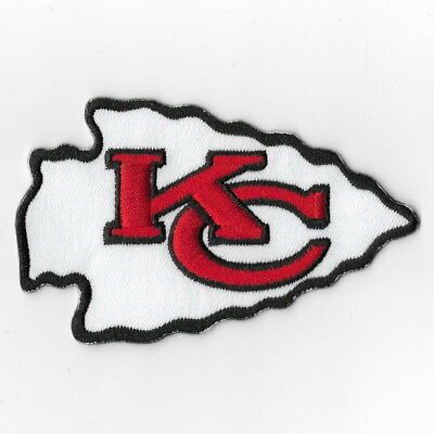 Kansas City Chiefs Iron on Patch Embroidered Patches Applique Badge Emblem FA