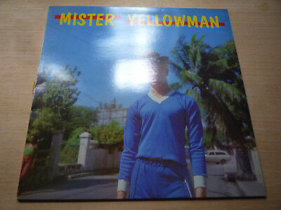 Mister Yellowman Greensleeves 1982 Vinyl LP