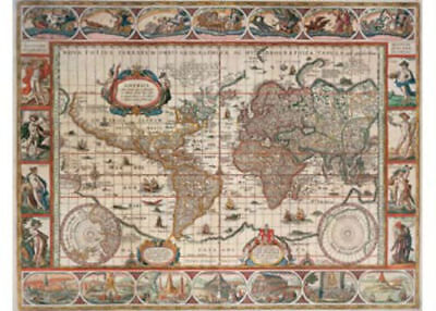 Ravensburger Map Of World From 1650 2000 Piece Jigsaw Puzzle
