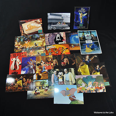 Disney Collectors Society, Lot Of 21 Disney Images