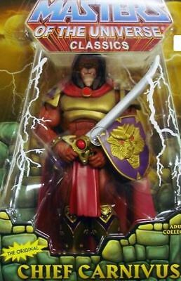 MOTUC - Chief Carnivus - AFA 9.0 - Neu&OVP - Masters of the Universe - MOTU