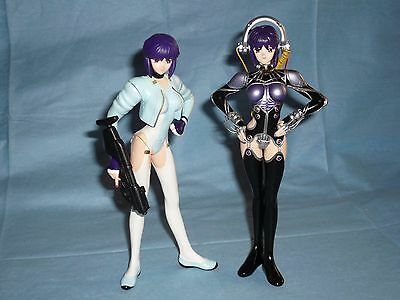 GHOST IN THE SHELL Kusanagi Motoko WHITE OUT & HARD DISK figure set