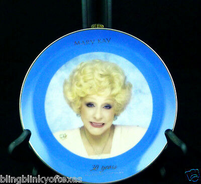Mary Kay Plate Dream Continues Commemorative Plate 1993
