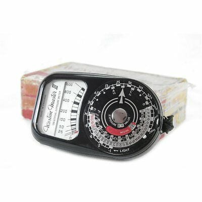 Weston III Vintage Exposure Light Meter Boxed XLNT