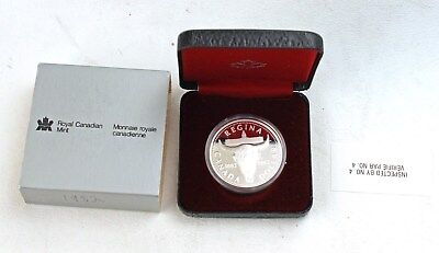 1982 Canada Silver Proof Dollar with Box Toronto