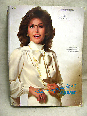 vintage Sears 1985 Fall Winter catalog 1516 pages