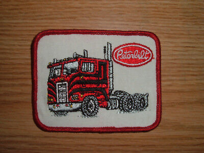 "Vintage PETERBILT Trucking Patch 3"" X 4""- Original! NOS"