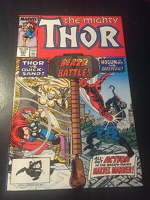 Mighty Thor#393 Incredible Condition 9.4(1988) Quicksand, Daredevil, Hogun App!!
