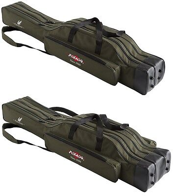 Rod bag MIKADO 2/3 Compartments holdall Fishing 7 Varieties! 1,2-1,19.7ft