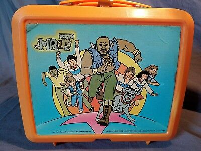 Mr. T Lunchbox Vintage Aladdin 1984